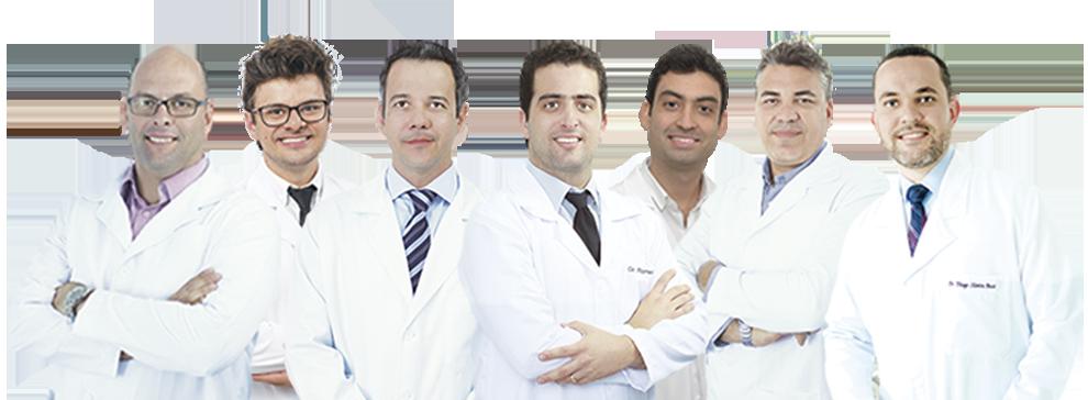 Equipe médica Oculari